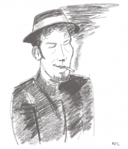 Tom Waits warmup sketch