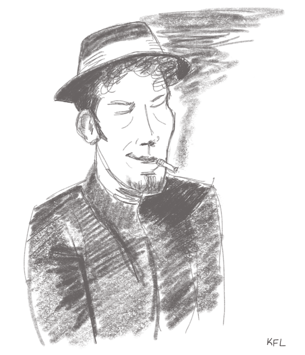 Tom Waits warmup sketch